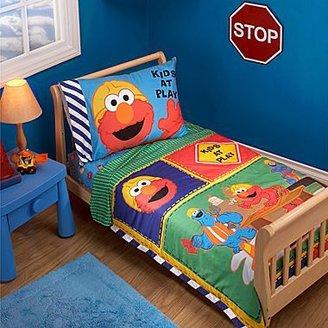 Sesame Street 4-pc. Toddler Bedding Set