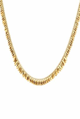 House Of Harlow Pyramid Bar Necklace in Gold
