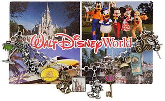 Disney Classic Postcard Walt World Charm Bracelet