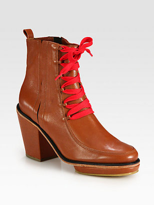 Rachel Comey Waterloo Leather Ankle Boots