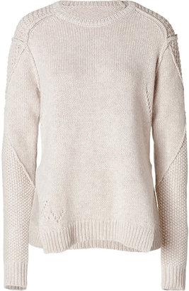 Zadig & Voltaire Alpaca-Wool Magot Sweater in Neige