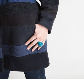 Alexis Mabille Deep Turquoise Ring