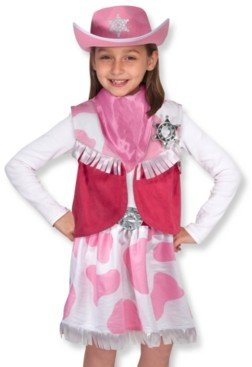 Melissa & Doug Kids Toys, Cowgirl Costume