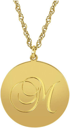 FINE JEWELRY Personalized 14K Gold Over Sterling Silver Initial Pendant Necklace $324.98 thestylecure.com