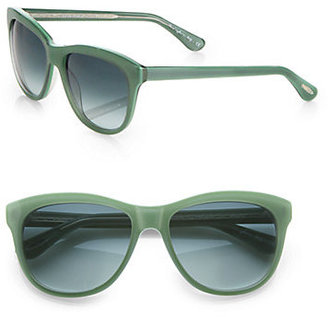 Oliver Peoples Reigh Acetate Round Sunglasses