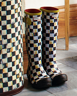 Mackenzie Childs MacKenzie-Childs Courtly Check Hunter Boots