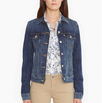 Women's Levi's Classic Denim Jacket $59.50 thestylecure.com