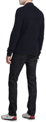 Theory Cosmin W Zip Sweater, Navy