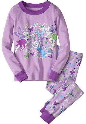 Disney Flutter Fairies Long John Pajamas