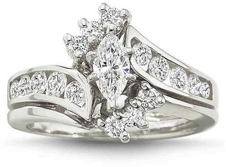 MODERN BRIDE 1 CT. T.W. Diamond Ring $4,500 thestylecure.com