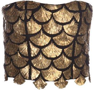 Altuzarra Binta embellished bustier top