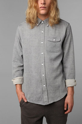 Urban Outfitters The Narrows Quilted Chambray Shirt