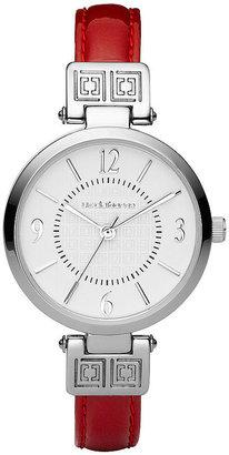 Liz Claiborne Red Iconic Watch