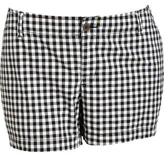"""Old Navy Women's Plus Printed-Twill Shorts (5"""")"""