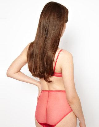 Marios Schwab Kallisti by for ASOS Inc Lace and Satin High Waist Pant