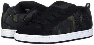 DC Court Graffik SE (Grey/White/Grey) Men's Skate Shoes