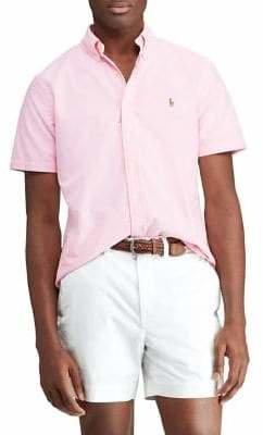 Polo Ralph Lauren Big Tall Classic-Fit Oxford Button-Down Shirt