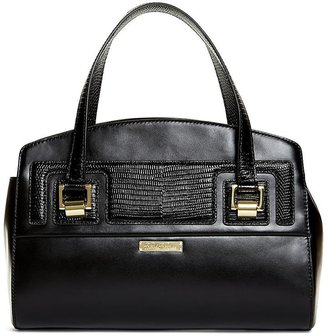 Exotic Embossed Calfskin Small Satchel $498 thestylecure.com