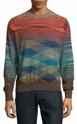 Missoni Printed Wool Sweater