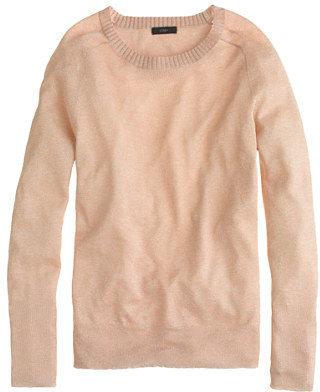 J.Crew Sparkle crewneck sweater