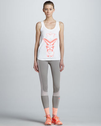 adidas by Stella McCartney Organic Butterfly-Print Tank