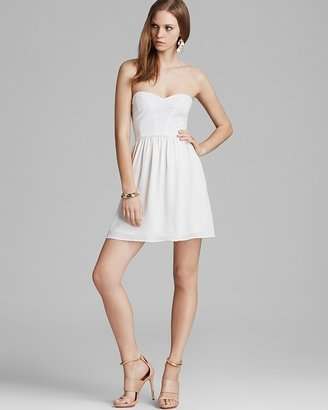 Aqua Dress - Strapless