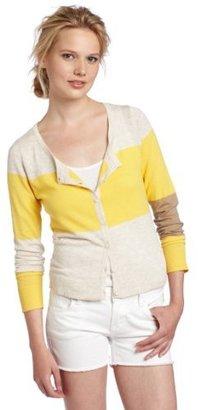 Kensie Women's Color Block Cardigan
