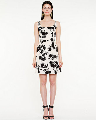 Le Château Floral Fit & Flare Dress