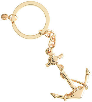 J.Crew Anchor and rope key chain