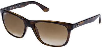 Ray-Ban Avana Mock Tortoise RB4181 Gradient Sunglasses