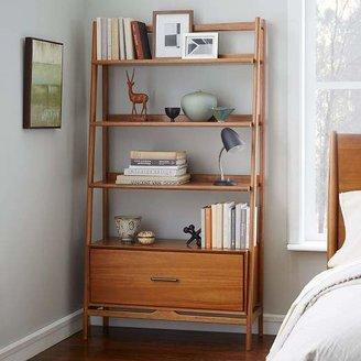 "west elm Mid-Century 38"" Bookshelf - Acorn"