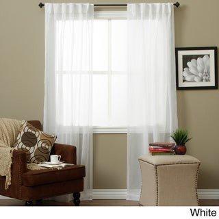 Ricardo Lucerne Wanda Pleat Back Tab Curtain Panel Pair