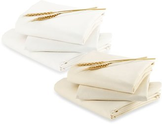 Bloom alma papaTM Fitted Sheet Set in Coconut White