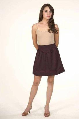 Postella High Waisted Dorothy Skirt in Plum