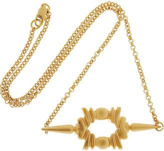 Dominic Jones Wadi 23-karat gold-plated necklace