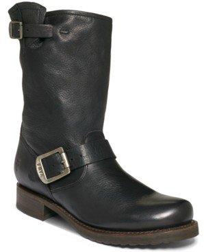 Frye Women's Veronica Short Leather Boots Women's Shoes