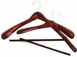 The Hanger Project Luxury Wooden Suit Hanger, Large