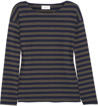Chinti and Parker Striped cotton top