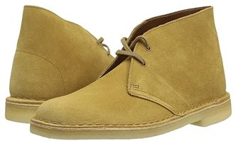 Clarks Desert Boot (Oak Suede) Women's Lace-up Boots