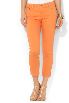 Lauren Ralph Lauren Jeans, Slimming Cropped Straight-Leg Colored