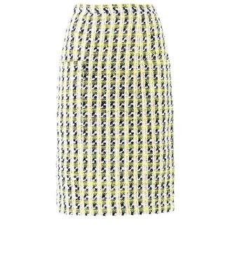 Erdem Sheila tweed skirt