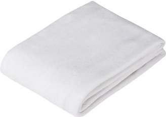 American Baby Company Knitted Terry Flat Changing Table Cover - White