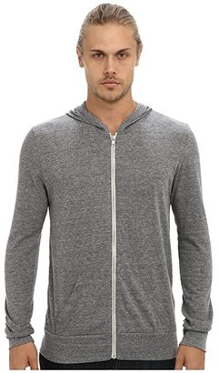 Alternative L/S Zip Hoodie (Eco True Alpine Teal) Men's Sweatshirt