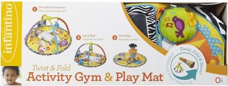 Infantino Twist & Fold Activity Gym Baby Animals