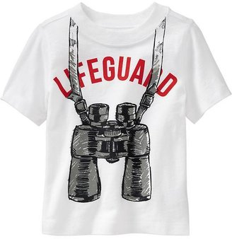 """Old Navy """"Lifeguard"""" Tees for Baby"""