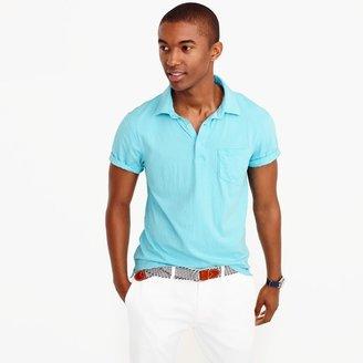 Slim broken-in pocket polo shirt $34.50 thestylecure.com