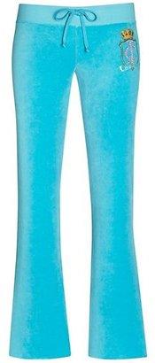 Juicy Couture Original Pant in Royal Rose Velour