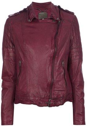 Muu Baa Muubaa quilted biker jacket