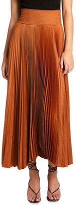 A.L.C. Demi Long Pleated Skirt