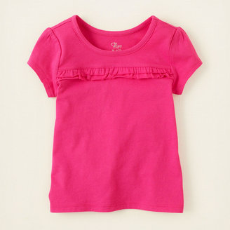 Children's Place Active ruffle tee
